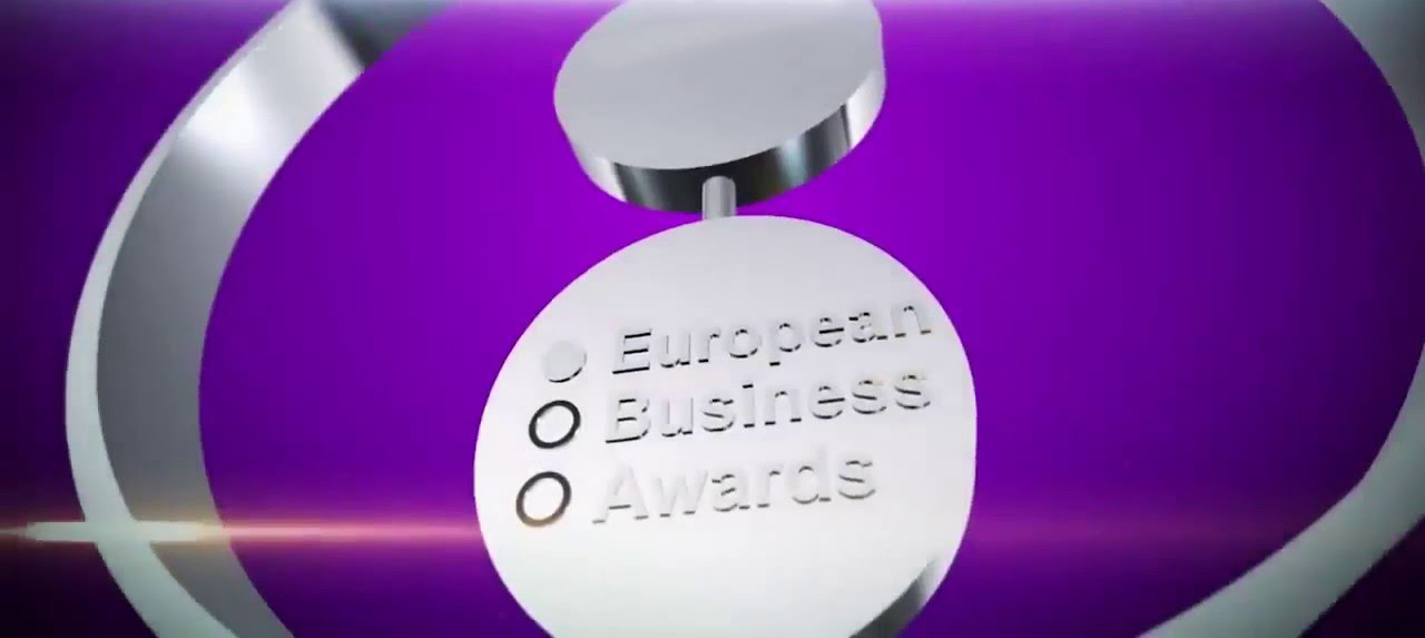 National Winner for 'The Business of the Year' at the European Business Awards