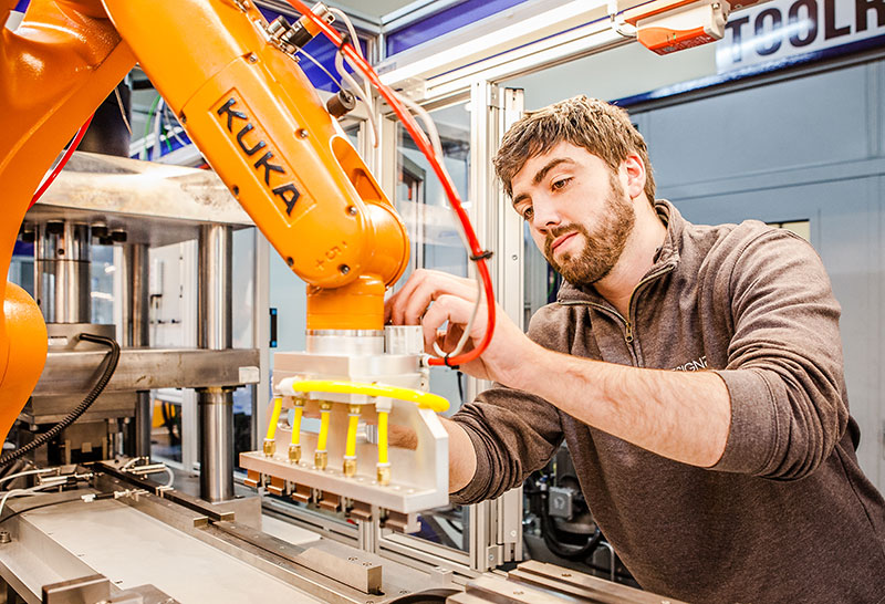 Recognised as Ireland's Official System Partner for KUKA Robotics