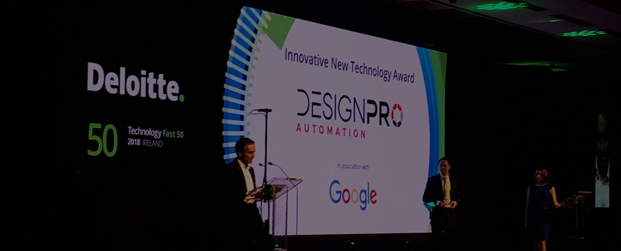 Our Innovative Design Takes Top Technology Award At Deloittes Fast 50