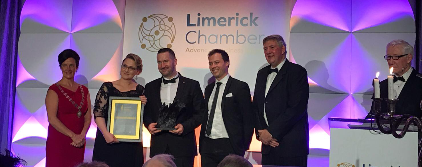Best SME at Limerick Chamber Regional Awards