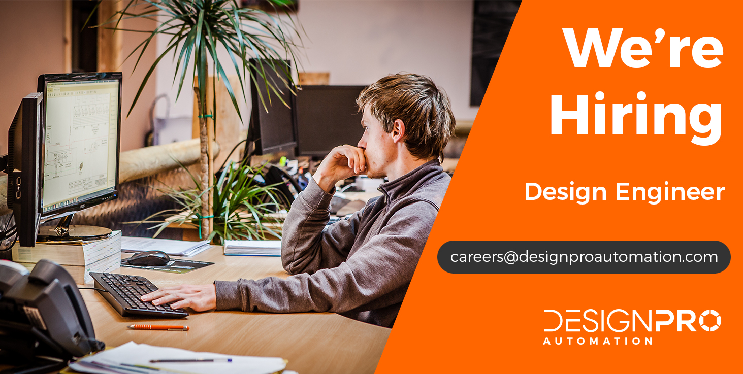 We're Hiring Design Engineer