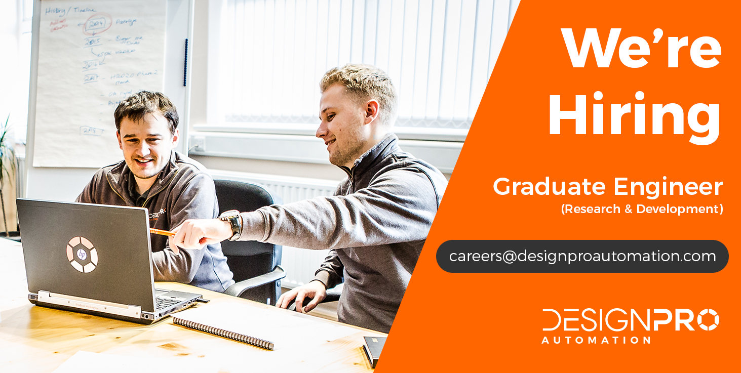 We're Hiring Graduate Engineer